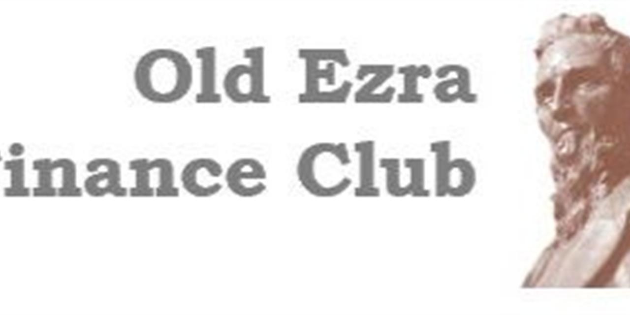 Elections! - Old Ezra Finance Club Meeting #13 Event Logo