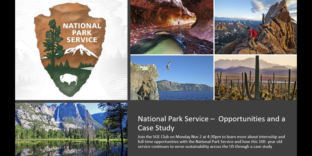 SGE: National Parks Service Event Logo