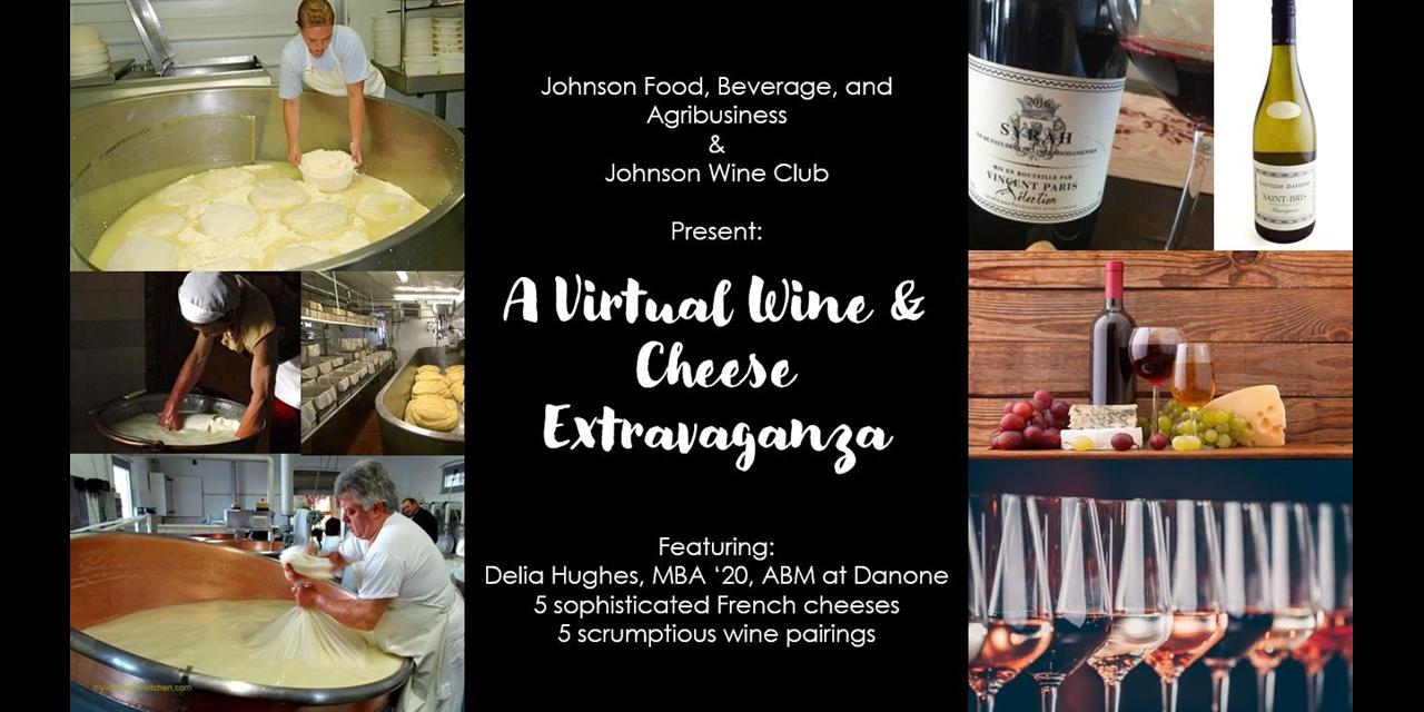 Wine & Cheese Extravaganza Event Logo