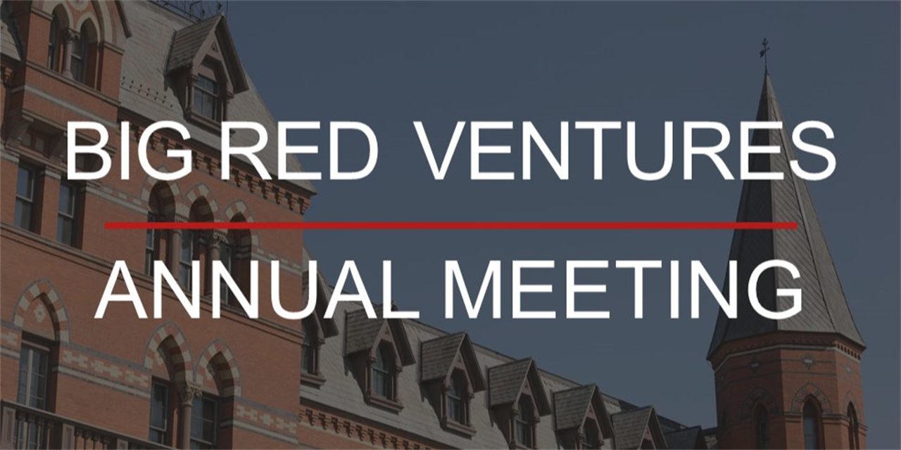 Big Red Ventures Annual Meeting Event Logo