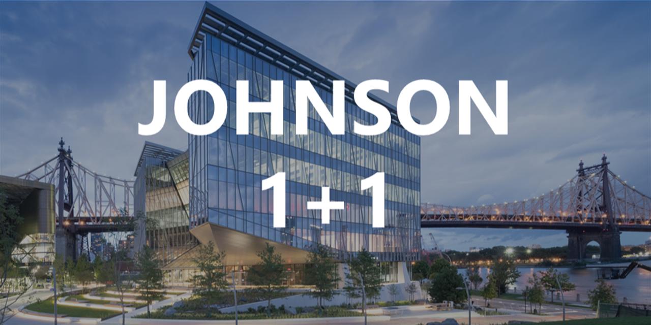 Johnson 1+1 Information Session Event Logo