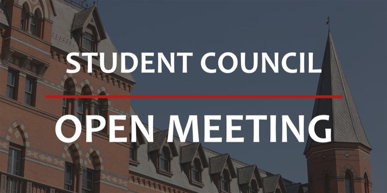 SC: OPEN MEETING Event Logo
