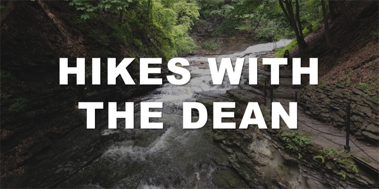 Hike with the Dean (meet in the Sage Hall Atrium) Event Logo