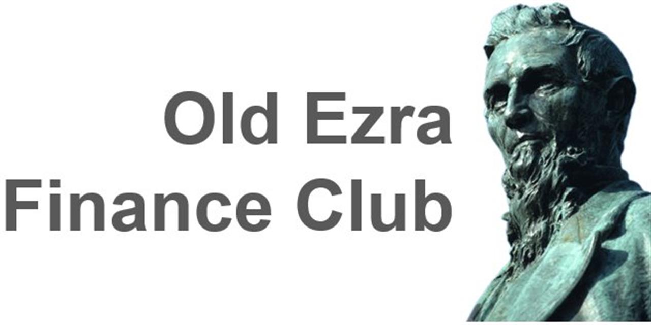 Old Ezra Finance Club Meeting #7 Event Logo