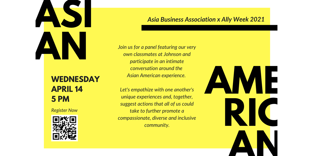 ABA Presents: Community Conversation on the Asian American Experience Event Logo