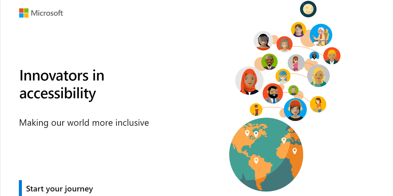 Microsoft Innovators in Accessibility Workshop Event Logo