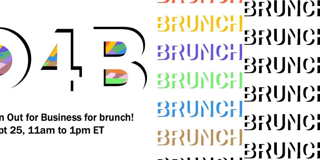O4B Brunch! Event Logo