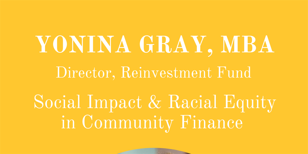 Social Impact & Racial Equity in Community Finance Event Logo
