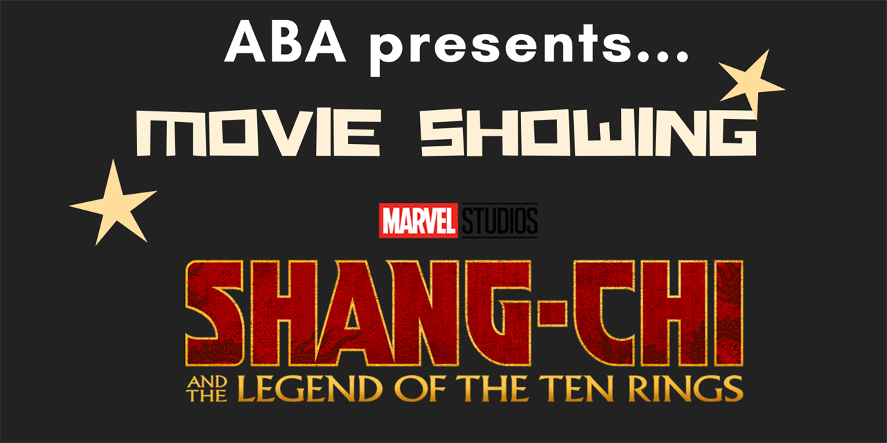Private Movie Screening: Shang-Chi @ Regal Event Logo