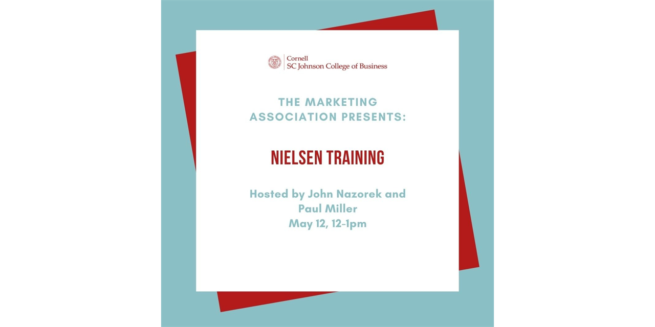 Nielsen Training Event Logo