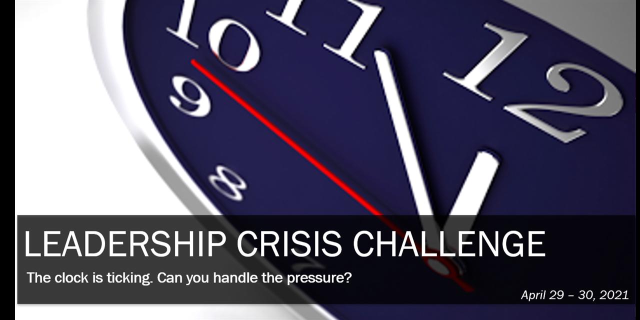 Leadership Crisis Challenge Case Competition | 0.4 LSP Credit Event Logo