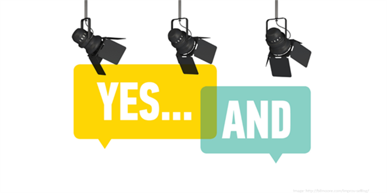 Improv for Business Leaders: Everything is an Offer! Event Logo