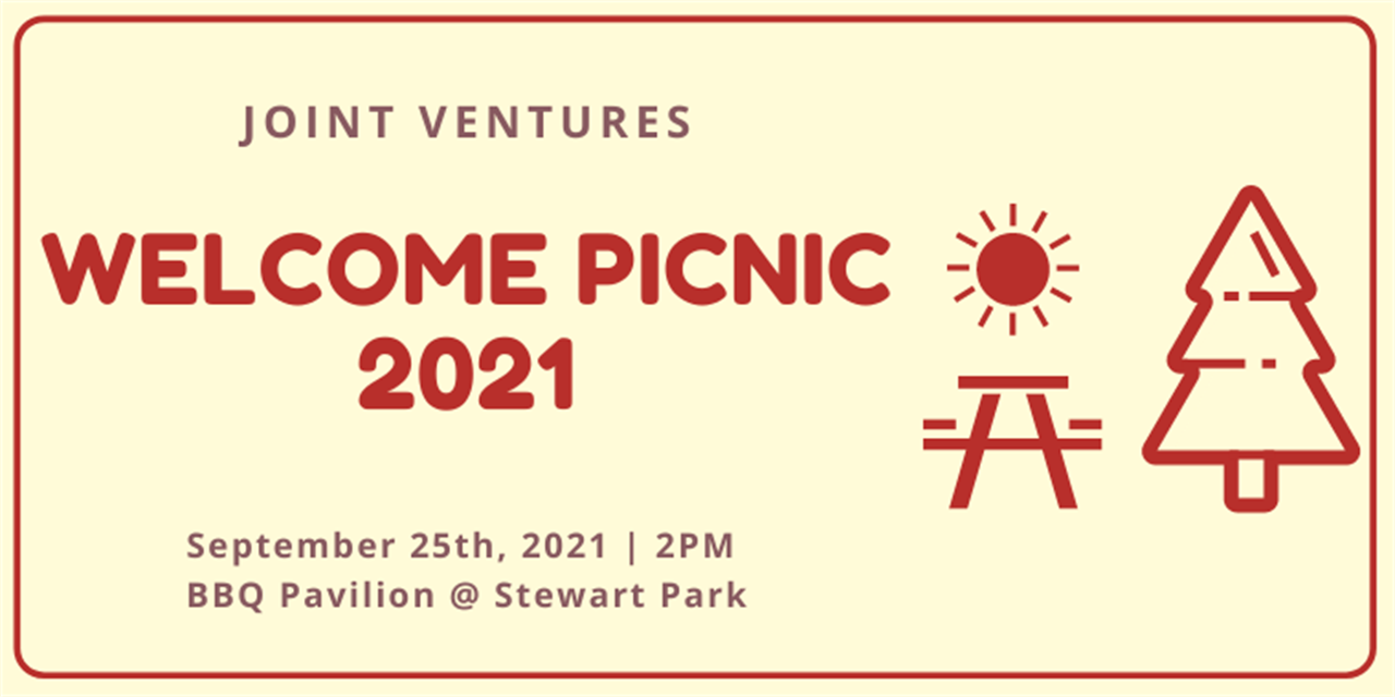Joint Ventures Welcome Picnic 2021 Event Logo