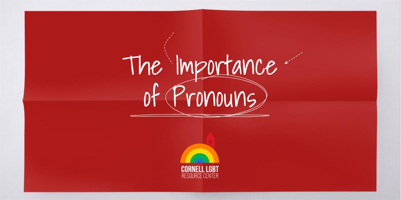 Student Pronoun Workshop #3 (4/8) Event Logo