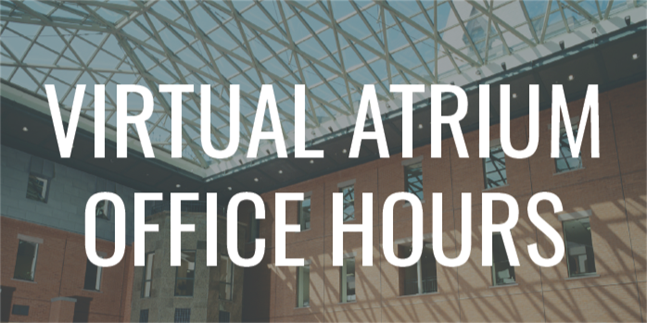 MBA Student Services Office Hours Event Logo