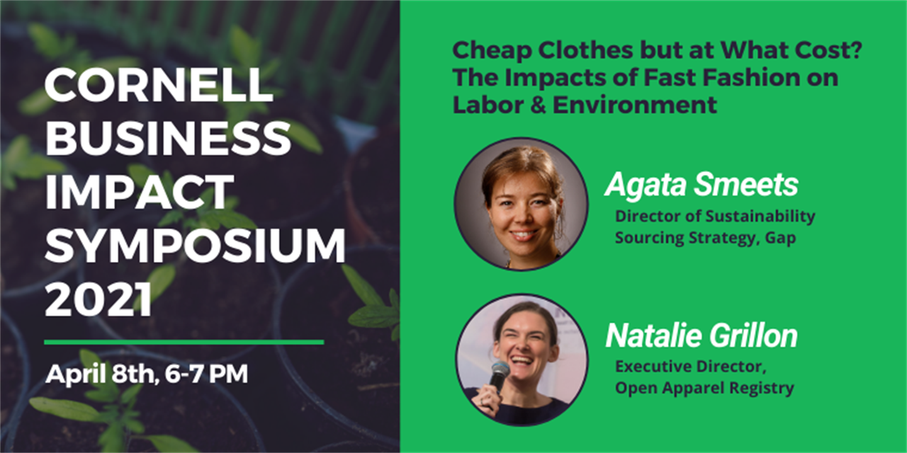 CBIS2021 - Cheap Clothes But at What Cost? The Impacts of Fast Fashion on Labor & Environment Event Logo