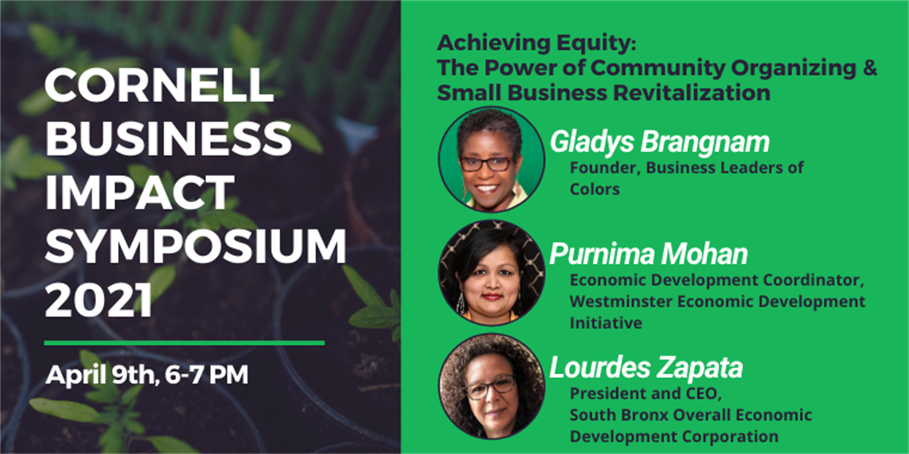 CBIS2021 - Achieving Equity: The Power of Community Organizing and Small Business Revitalization Event Logo