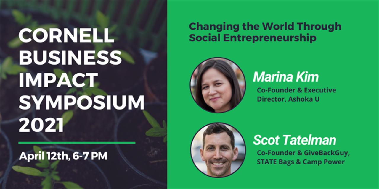 CBIS2021 - Changing the World Through Social Entrepreneurship Event Logo
