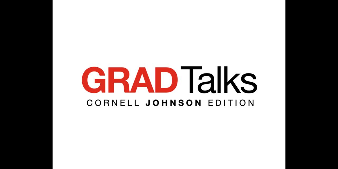 GRAD Talks - Johnson Edition Event Logo