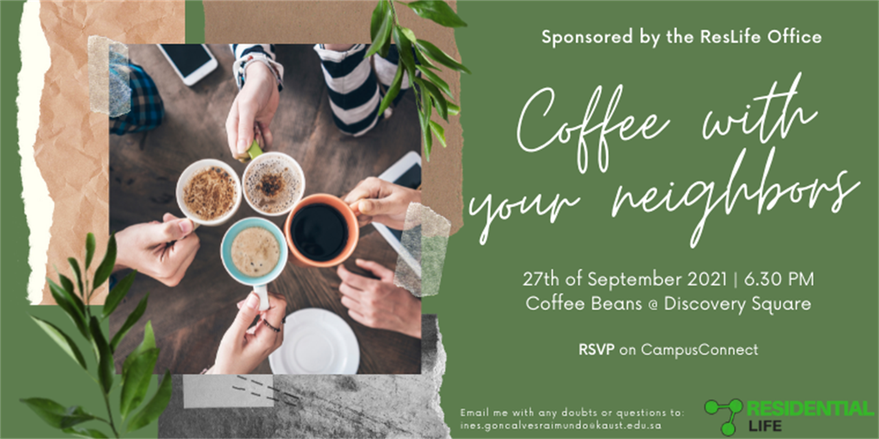 Coffee with your neighbors Event Logo
