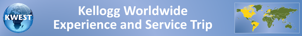 Kellogg Worldwide Experience and Service Trips (KWEST) | Kellogg School of Management