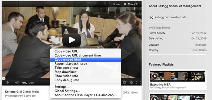 Screenshot: YouTube Video