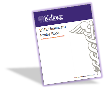 Kellogg Healthcare Club 2012 Profile Book Cover