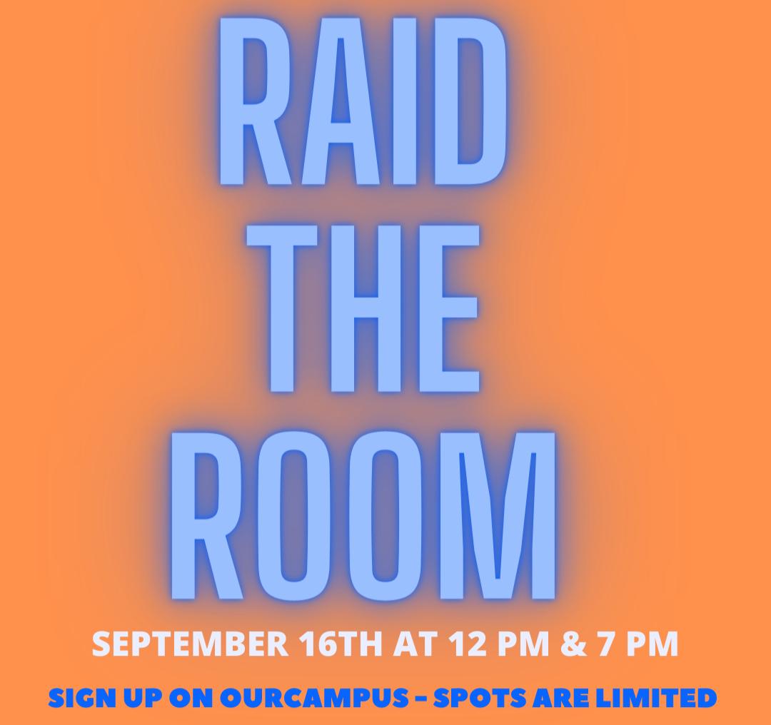 Raid the Room! Session 1