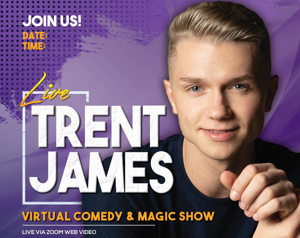 Virtual Comedy & Magic Show!
