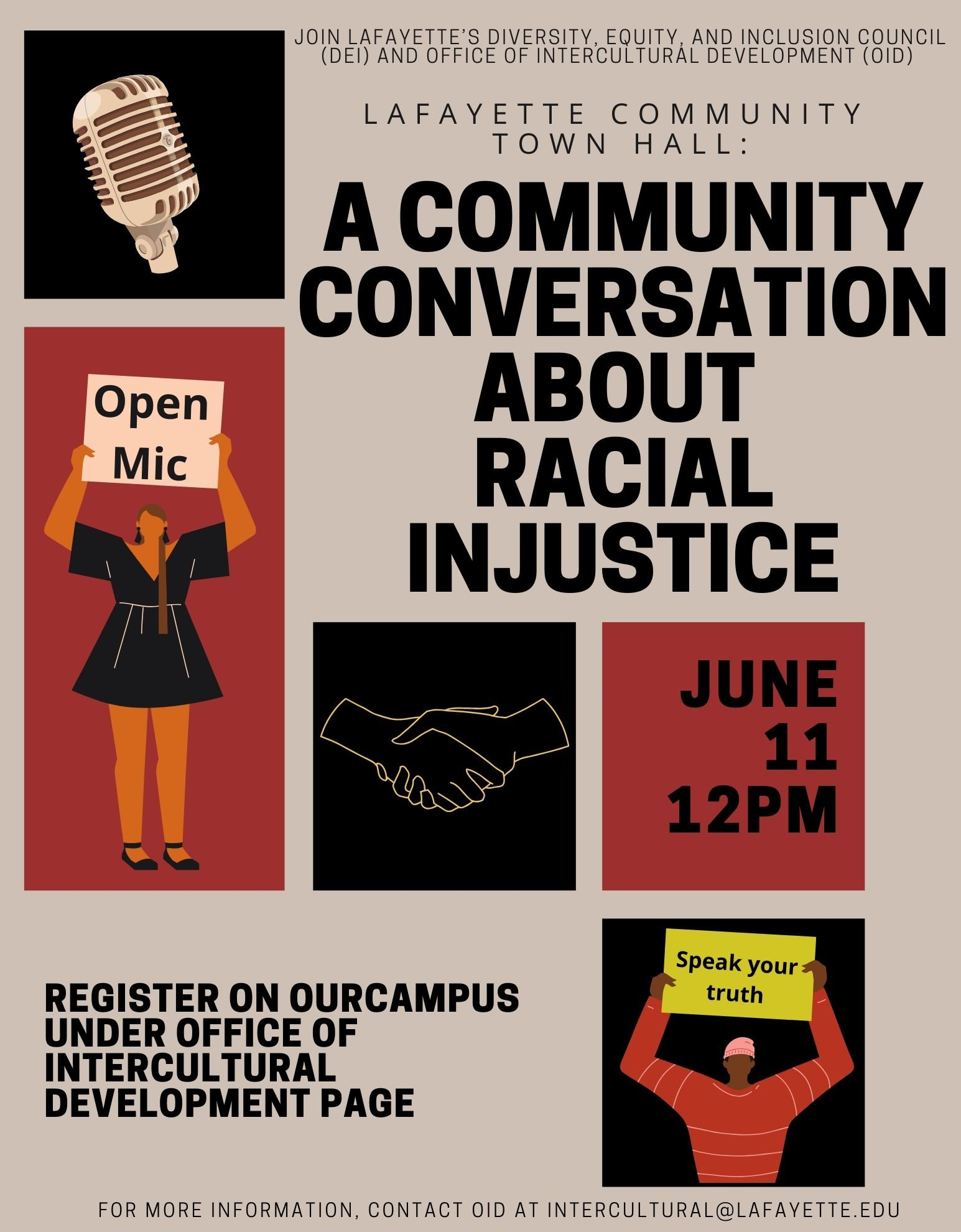 Town Hall: A Community Conversation About Racial Injustice