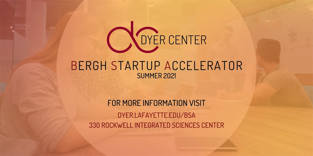 Bergh Startup Accelerator - Apply Today! Event Logo