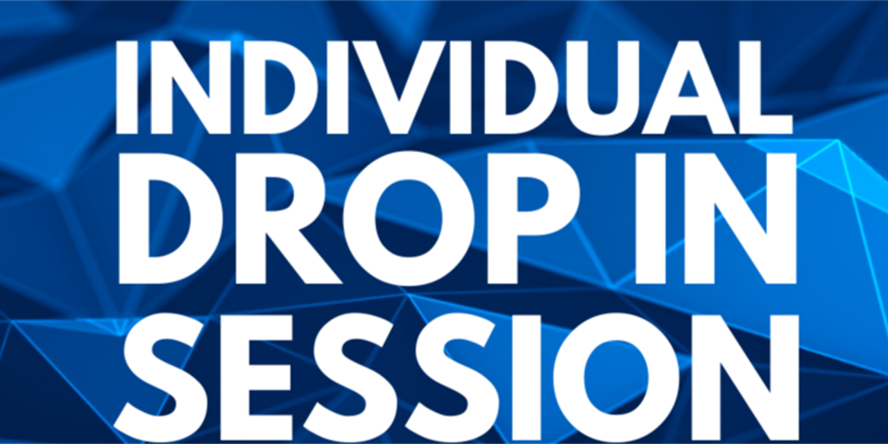 Individual Drop In Sessions Event Logo