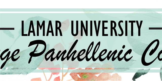 College Panhellenic Council Group Banner