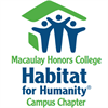 Macaulay Honors College Habitat for Humanity's logo