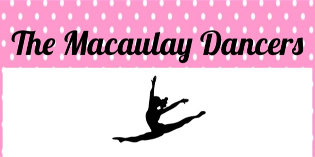 "Macaulay Dancers Video Submission ""Auditions"" Event Logo"