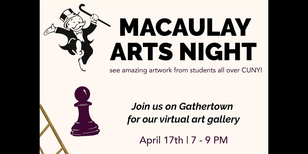 Arts Night Event Logo