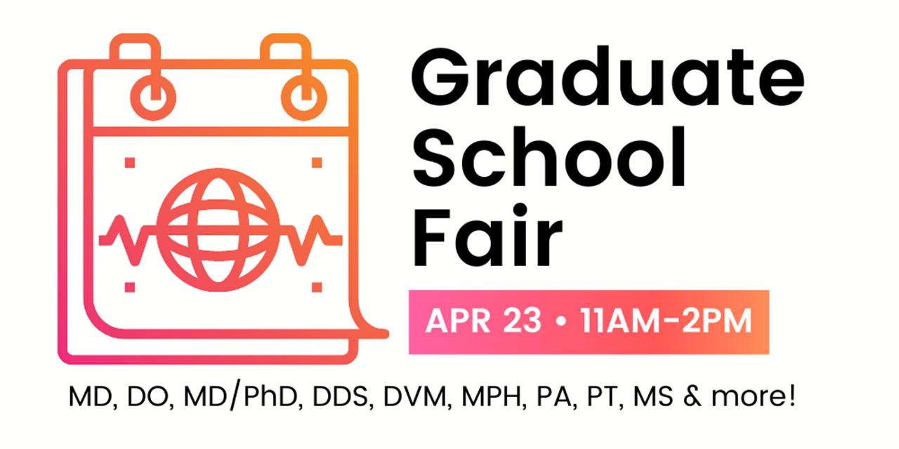 Macaulay Pre-Health Virtual Graduate School Fair Event Logo