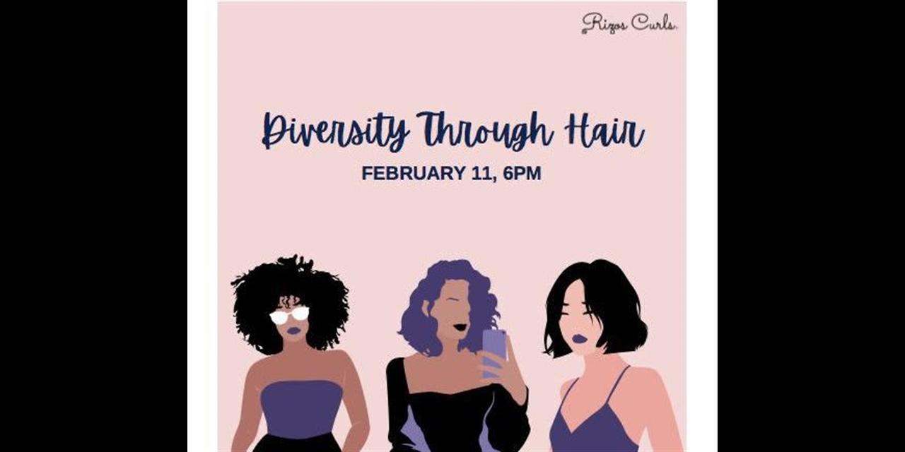 Macaulay Diversity Initiative Diversity Through Hair Event Event Logo