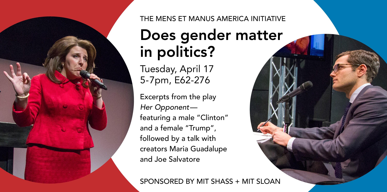 Mens et Manus America - How Does Gender Matter in Politics?