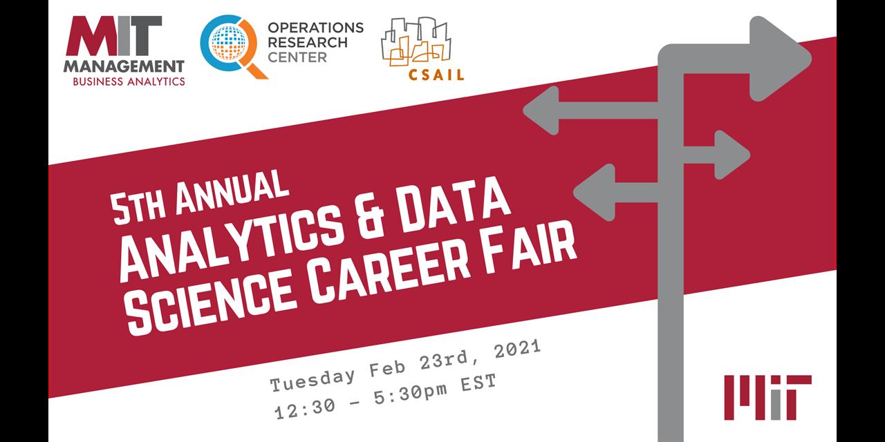 2021 Analytics & Data Science Career Fair - Employer Registration Event Logo