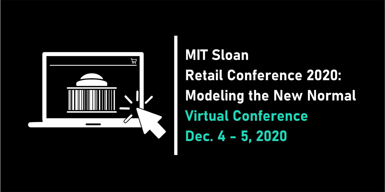 MIT Sloan Retail Conference: Modeling the New Normal Event Logo