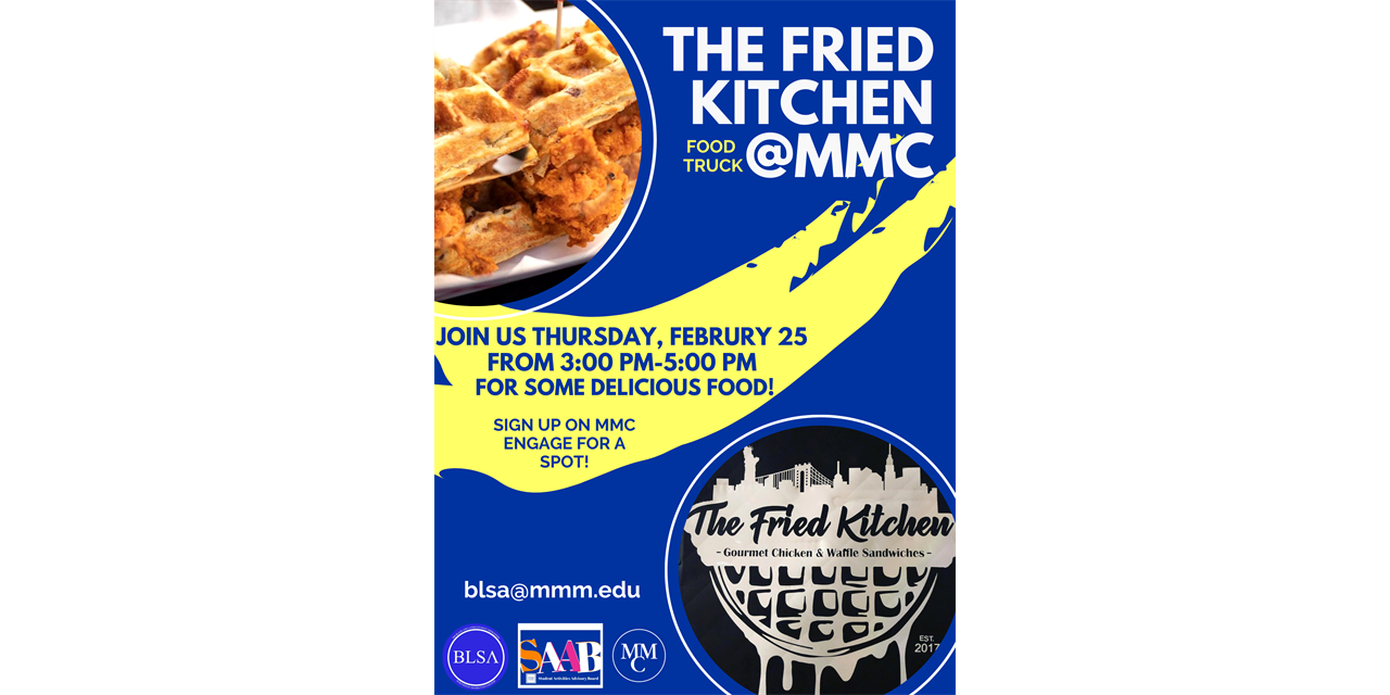 The Fried Kitchen Food Truck Event Logo