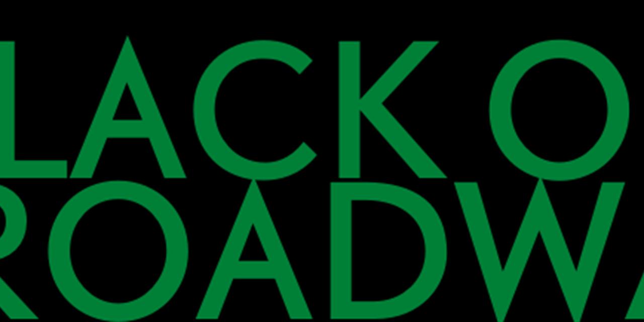 Black on Broadway Event Logo
