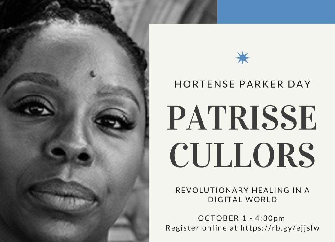 Hortense Parker Celebration: Patrisse Cullors