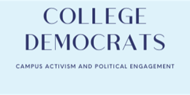 College Democrats Group Banner
