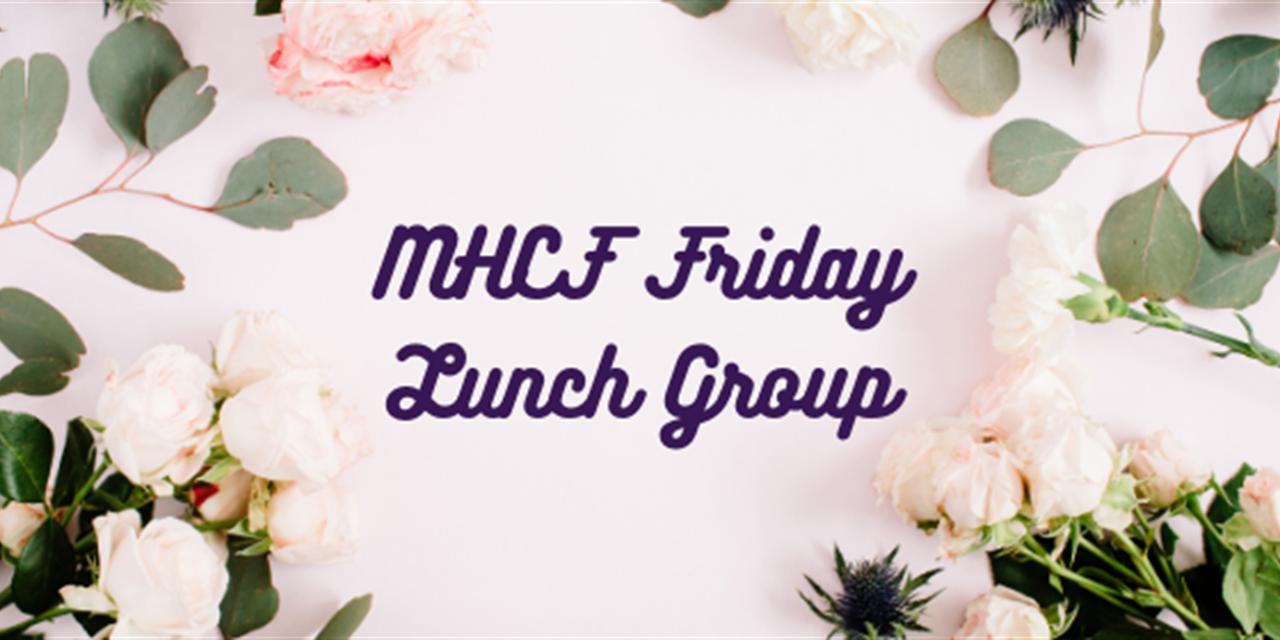 Mount Holyoke Christian Fellowship Friday Lunch Group Event Logo