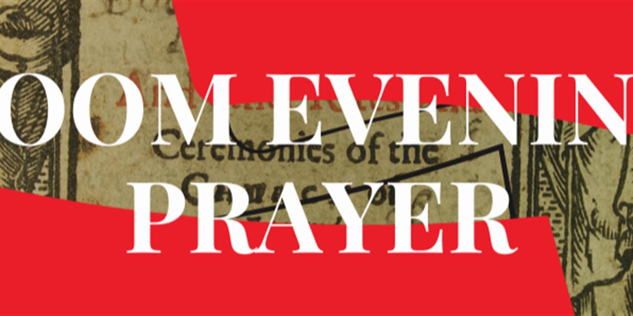 Zoom Evening Prayer Event Logo