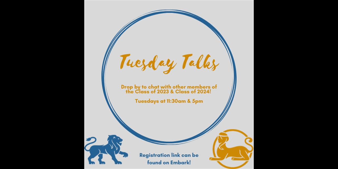 Tuesday Talks Event Logo