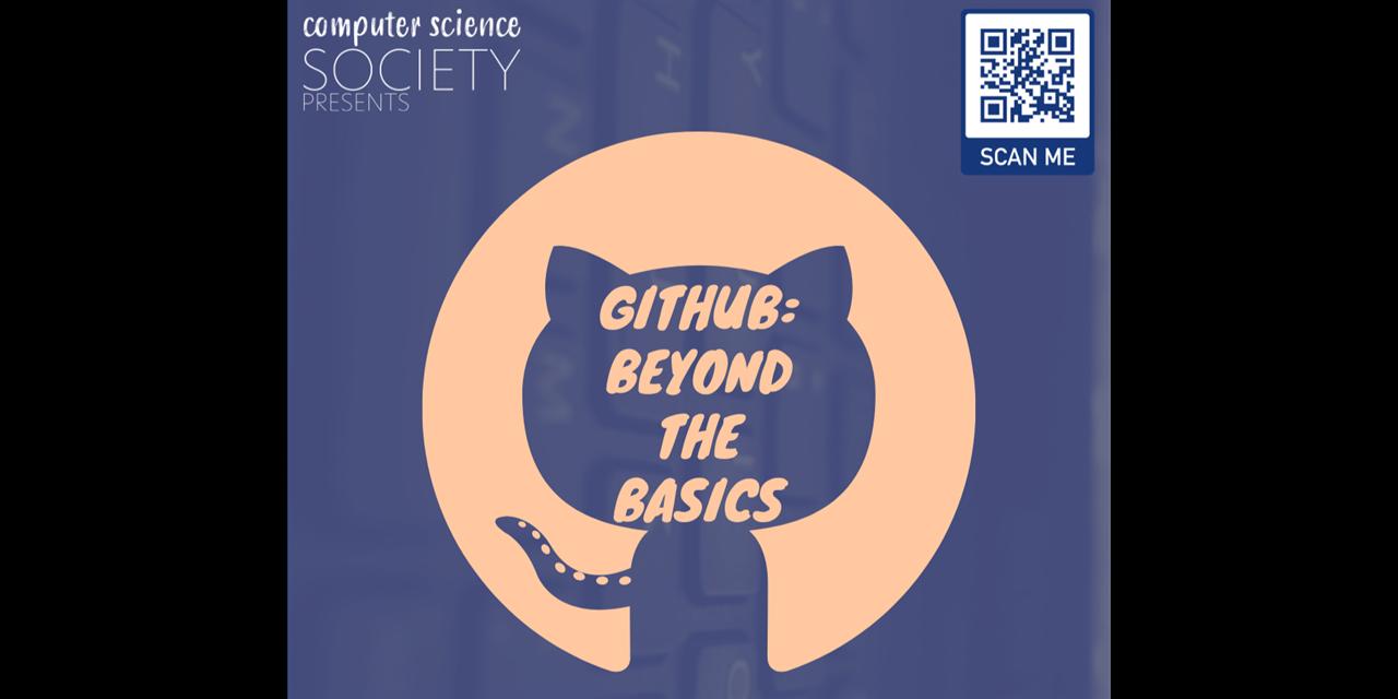 GitHub Workshop: Beyond the Basics Event Logo