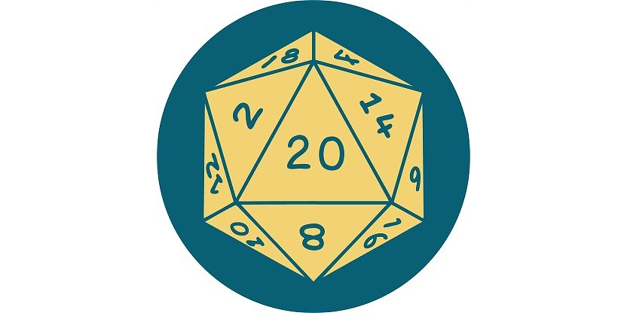 Intro to Tabletop Role-Playing Games Event Logo